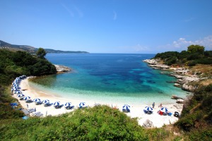 Corfu strand
